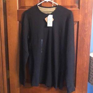 Men's waffle knit timberland shirt